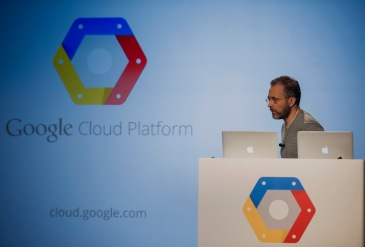 Google Cloud Event With VP Of Operations Urs Holzle