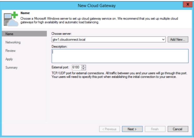 veeam cloud connect in azure
